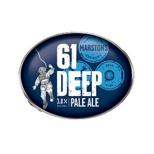 61 Deep New World Pale Ale 3.6% 30l