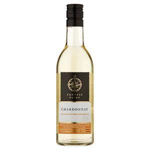 Compass Point Chardonnay 13.0% 12x187ml